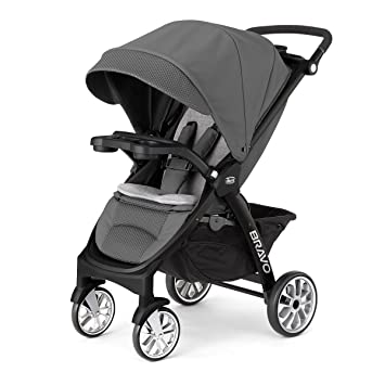 Amazon.com: Chicco Bravo LE Carriola, Negro: Baby