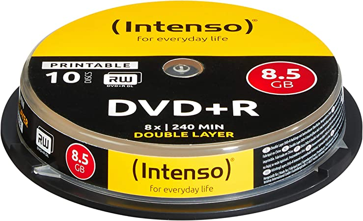 Intenso Dvd R 8 5gb Double Layer Printable 8x Speed Computer Zubehör
