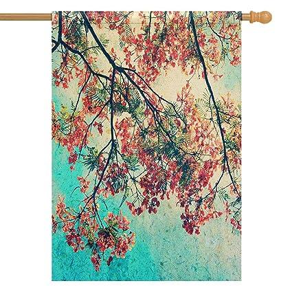 Amazon.com: Banderines para casa con diseño de pavo real ...