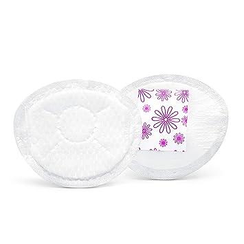 8ffff0745f91 Amazon.com : Medela Safe & Dry Thin Disposable Nursing Pads, White ...