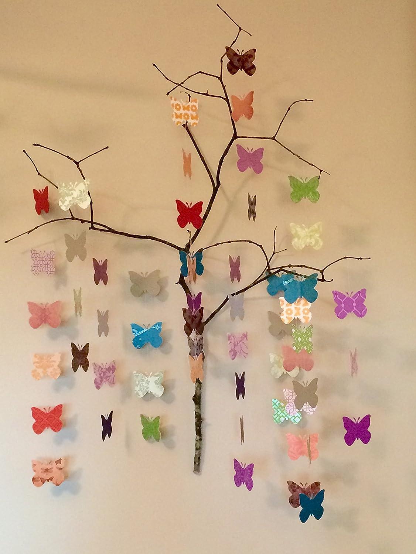 Paper Wall 3D Butterfly - 3D Wall Art - Paper Butterfly by ...   1500x1126