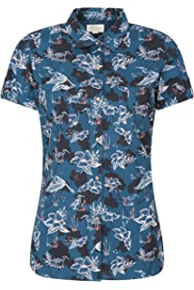 Ref.8271B MISEMIYA Camisa Uniforme Camarera SE/ÑORA Cuello Mao Mangas Cortas MESERO DEPENDIENTA Barman COCTELERA PROMOTRORAS Blusa