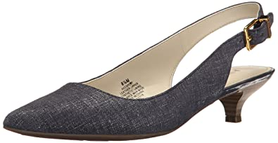 Womens Shoes Anne Klein Expert Black Reptile 1