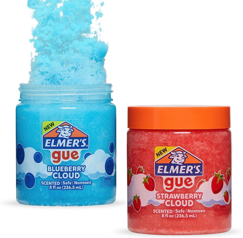 Slime Blueberry Cloud y Strawberry Cloud (uno de cada uno)