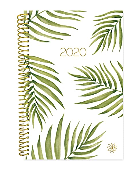 "bloom daily planners 2020 Calendar Year Day Planner (January 2020 - December 2020) - 6"" x 8.25"" - Weekly/Monthly Agenda Organizer Book with Tabs & ..."