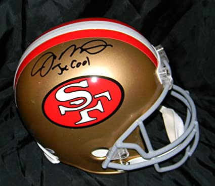 5db96ff7ba2 Amazon.com  Joe Montana Signed Helmet FS Auto