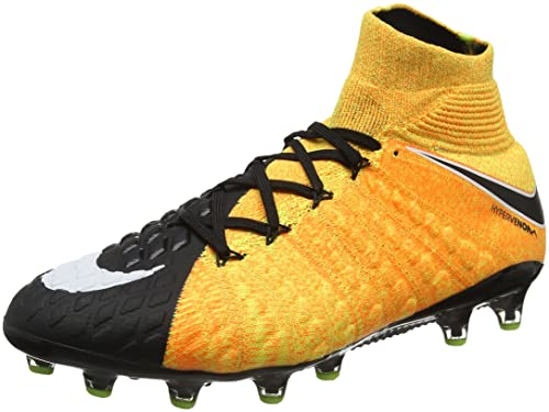 half off 10264 7a17e Nike Men s Hypervenom Phantom 3 DF AG-Pro Football Boots, (Laser Orange  Black