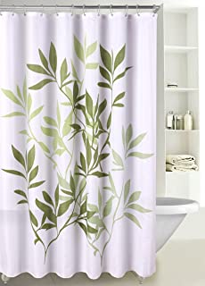 LuxuryDiscounts Fabric Shower Curtain Multicolor Forest Leaves SC 03 72W X