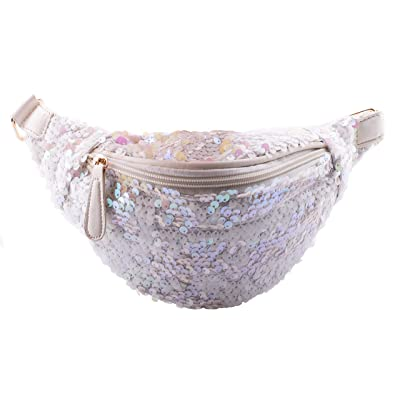 Rave Envy - Fanny Pack - Sequin Festival Waist Pack - Many Colors to Choose  From 1ed9212833