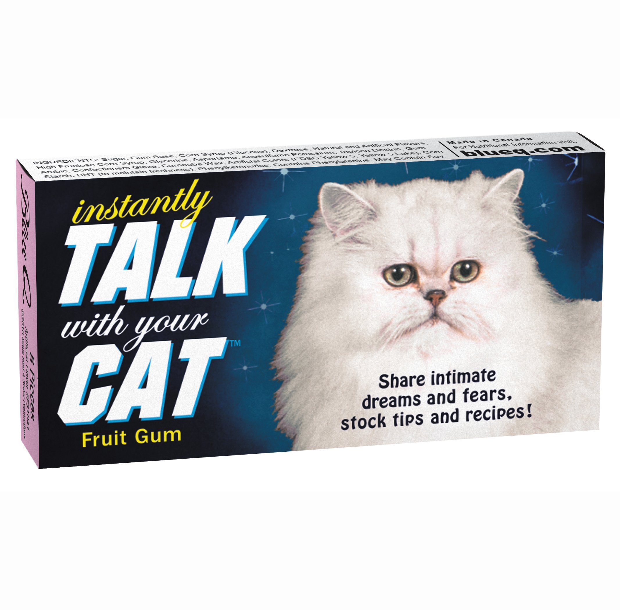 Blue Q Gum Talk With Your Cat