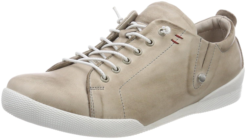 Andrea Conti 0345724, Zapatillas para Mujer 36 EU|Gris (Silbergrau 111)