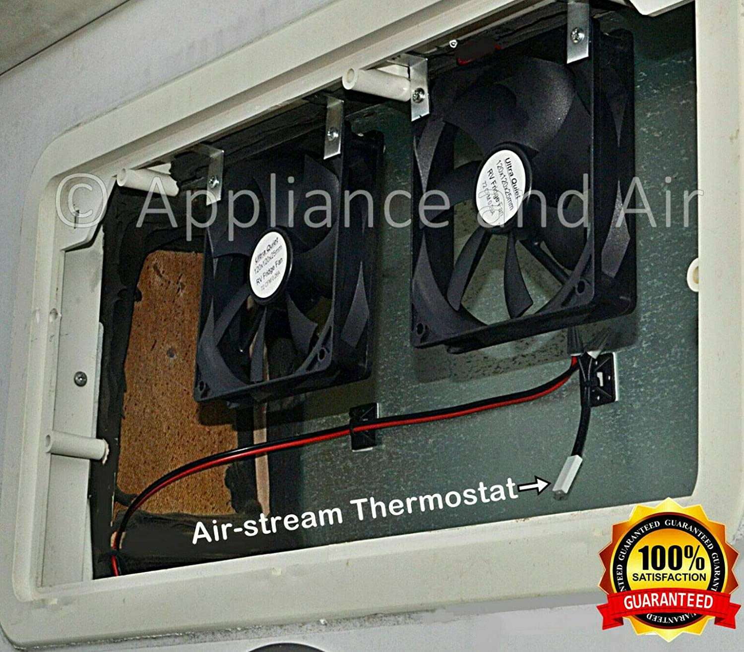 2 RV DOMETIC Norcold add on Cooling Fans