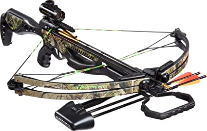 Amazon Com Barnett Jackal Crossbow Package Quiver 3 20 Inch Arrows And Premium Red Dot Sight Sports Outdoors