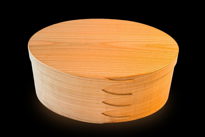 Shaker Oval Box No.8 europä isch Kirschbaum
