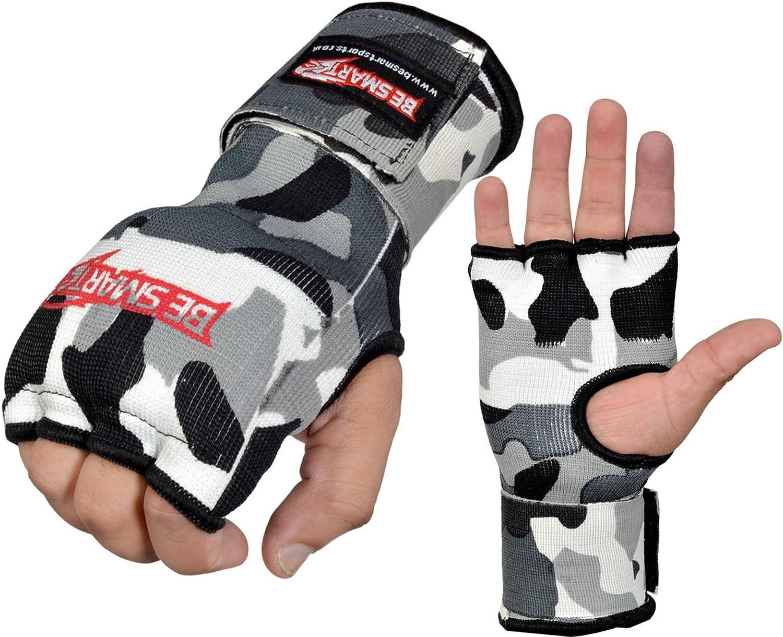 Boxing Gel Inner Gloves Hand Wraps Fist Padded Bandages MMA Thai Muay Training