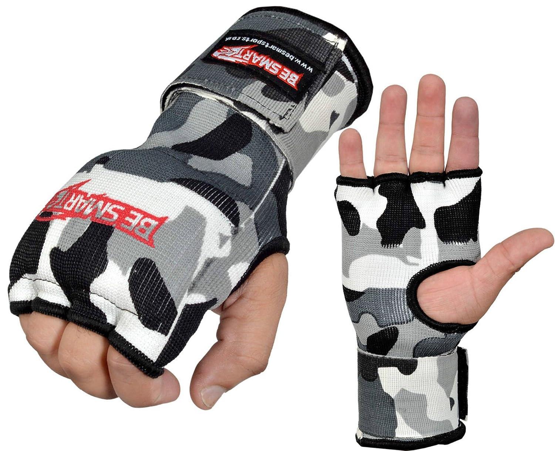 ボクシングジェルInner Gloves Hand Wraps Hand Fistパッド入り包帯MMAタイMuayトレーニング Medium B01N6JW3RH グレー迷彩 Gloves B01N6JW3RH, 店舗ディスプレイのエムズプレイス:0bb28aec --- capela.dominiotemporario.com