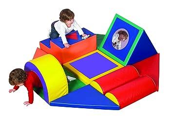 Childrens Factory Forma & Play Carrera de obstáculos