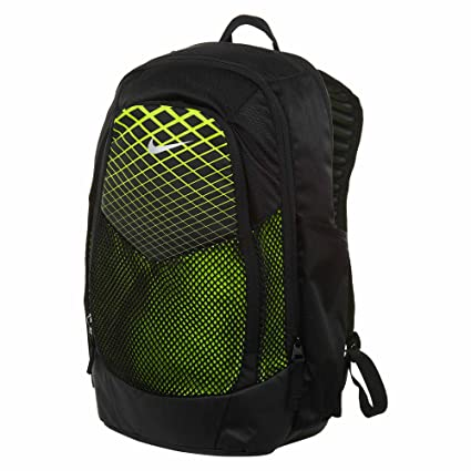 Nike Vapor Power Training Backpack Black Volt Metallic Silver  Amazon.in   Bags 9d82768efbdf1