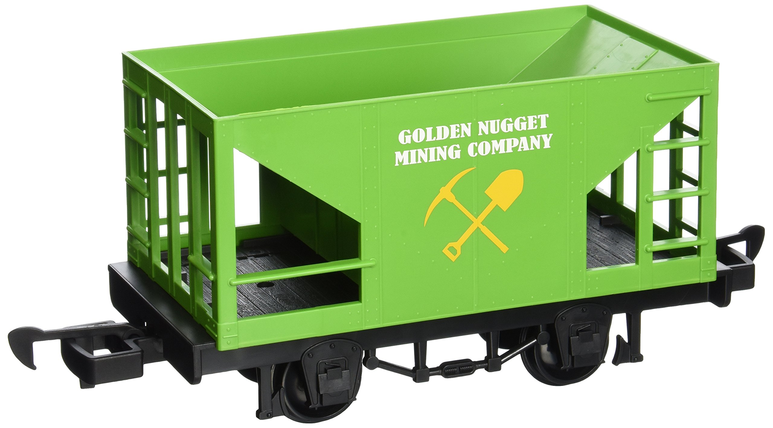 Bachmann Industries Li'L Big Haulers Golden Nugget Mining Company G-Scale Hopper Car, Large