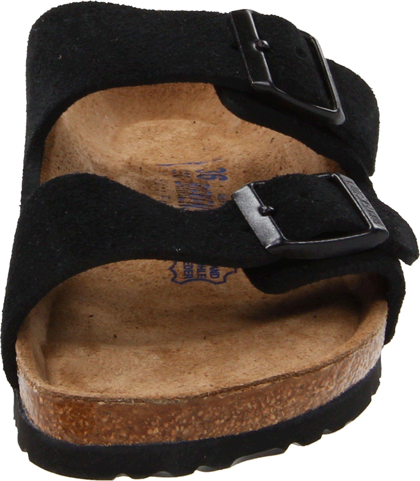 Birkenstock Arizona Soft Footbed Black Suede Regular Width - EU Size 35 / Women's US Sizes 4-4.5 by Birkenstock (Image #4)