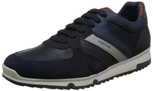 Geox Wilmer Scarpe Sportive Uomo Blu Blue, 43: Amazon.in