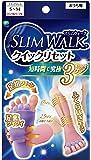 スリムウォーク (SLIM WALK) クイックリセット SMサイズ おうち用 着圧 ピンク&パープル