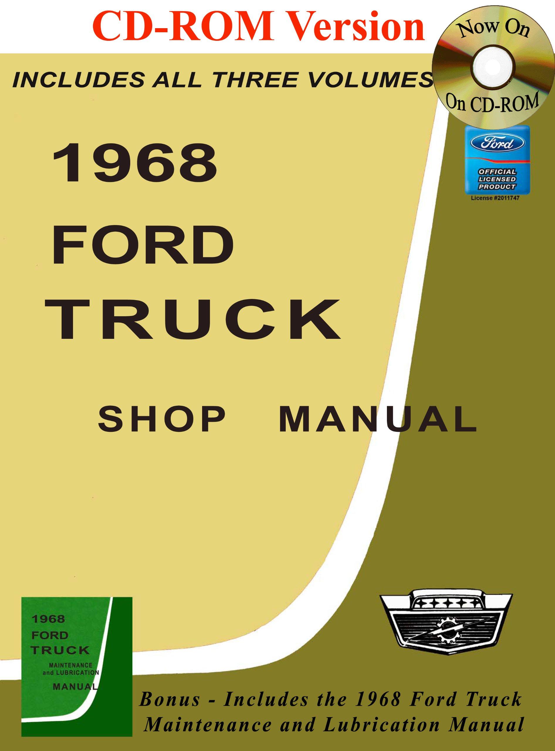 1968 Ford Truck Shop Manual: Ford Motor Company, David E. LeBlanc:  9781603710763: Amazon.com: Books