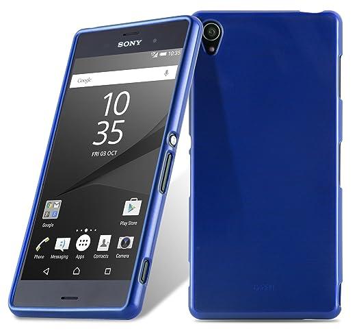 10 opinioni per Cadorabo- Custodia silicone TPU Sony Xperia Z3 Design: METALLO SPAZZOLATO