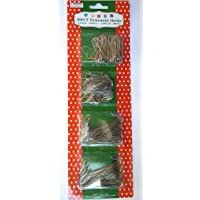 Silver Ornament Hooks Pack Of 300