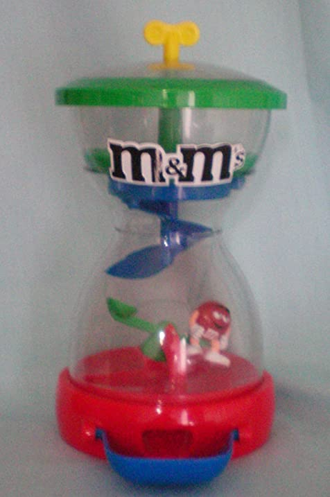 M&M M & M Candy Dispenser -- M&Ms Drop Onto SeeSaw To Raise Character -