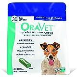 Frontline Merial Oravet Dental Hygiene Chew for Dogs (10-24 lbs), Dental Treats for Dogs, 30 Count