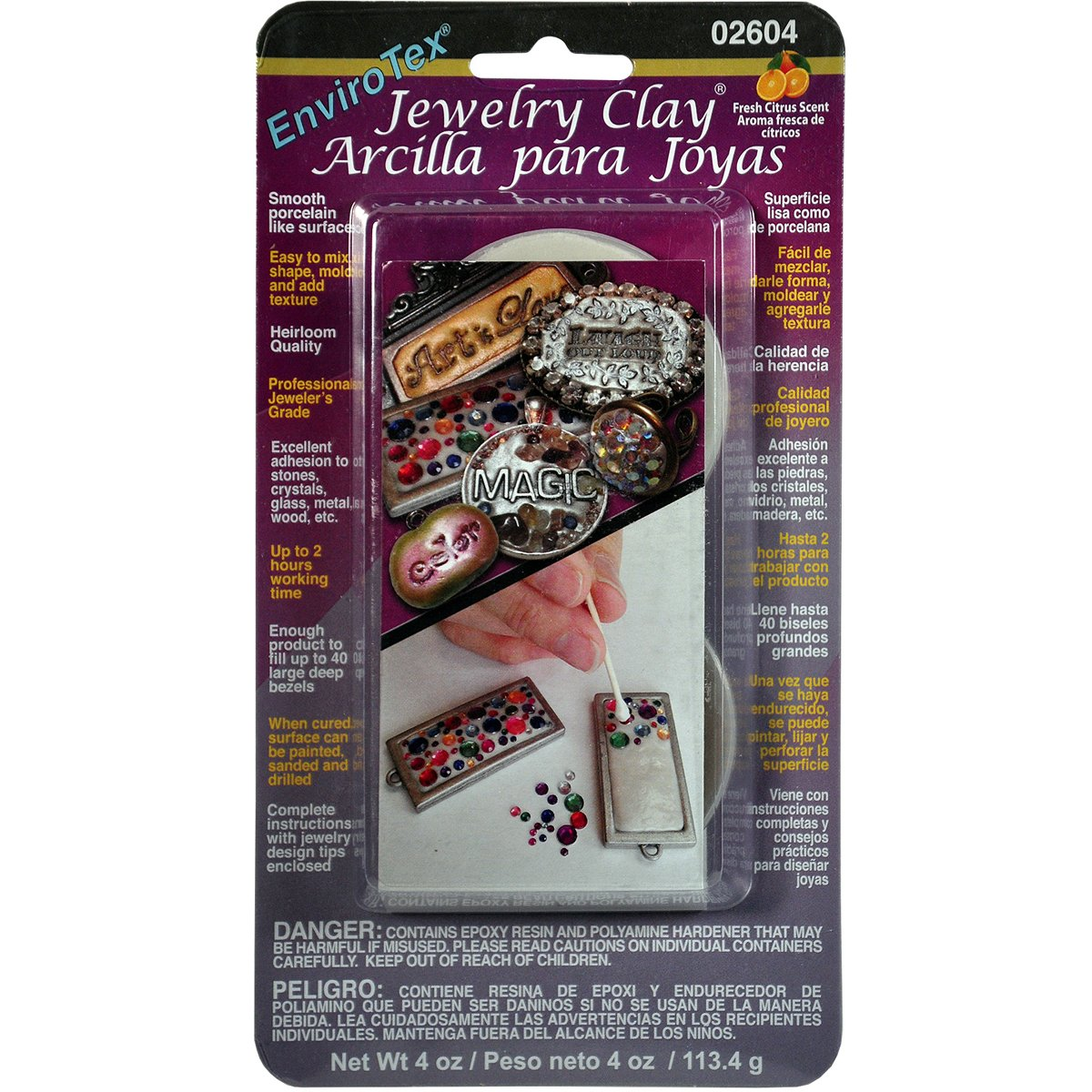 Envirotex Clay Jewelry Clay Envirotex 4 Ounces- d202a4