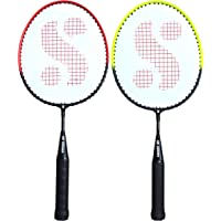 Silver's Kids SIL-Pedal Combo-4 Aluminum Badminton Racquet, Pack of 2