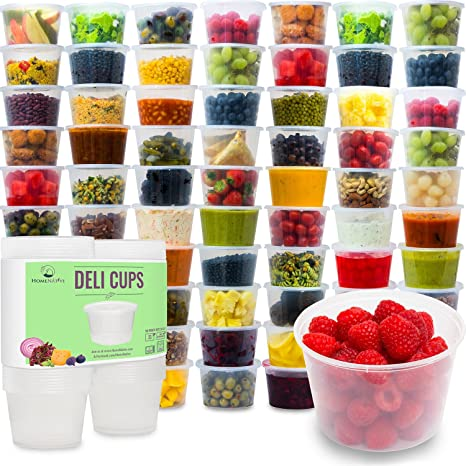 Amazoncom Plastic Food Storage Containers with Lids Restaurant