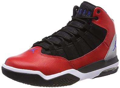 online retailer 42187 388b3 Nike Jordan Max Aura, Chaussures de Basketball , Multicolore (University  Red Hyper Royal