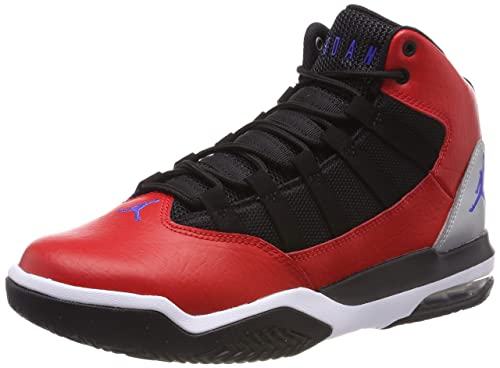 NIKE Jordan MAX Aura, Zapatillas de Baloncesto para Niños, (University Red/Hyper Royal/Black 600), 39 EU: Amazon.es: Zapatos y complementos