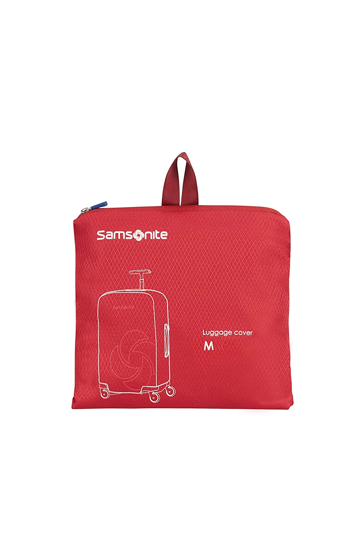 Red SAMSONITE Global Travel Accessories Foldable Medium Funda para Mochila 78 Centimeters 1 Rojo