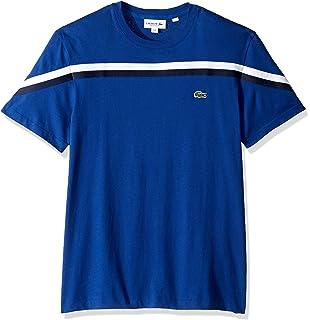 df9e55c7 Lacoste Men's S/S Colorblock Jersey T-Shirt | Amazon.com