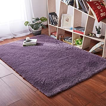 Amazon Com Softlife Super Soft Velvet Area Rugs Fashion Color