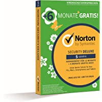 Norton Security Deluxe 2019 5 Geräte 18 Monate PC/Mac/iOS/Android Download, Aktivierungscode per Post