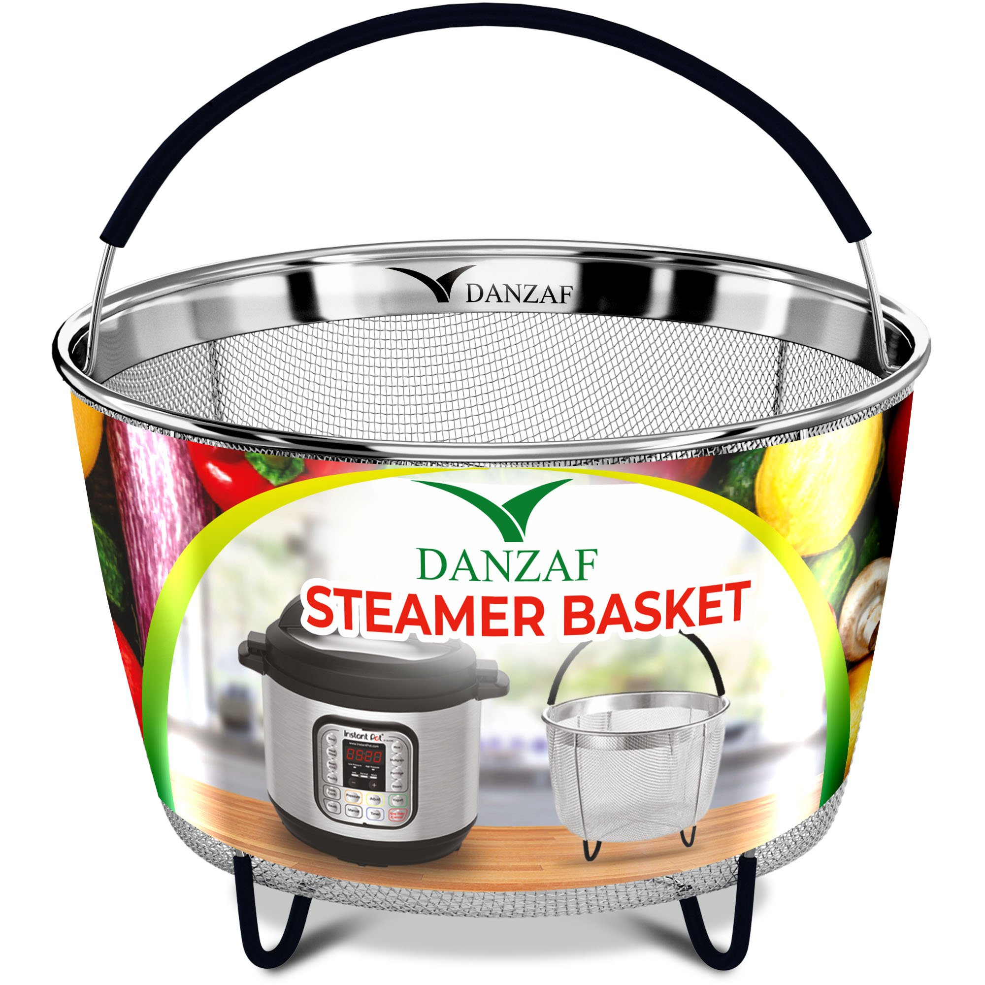 Instant Pot Accessories Steamer Basket 6qt - Pressure Cooker Accessories - Instant Pot Steamer Rack Stand Trivet - Egg Rack - Instant Pot Stainless Steel Strainer Steamer Basket – InstaPot steaming