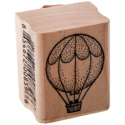 Stamps by Impression ST 0131 Hot Air Balloon Rubber Stamp: Arts, Crafts & Sewing