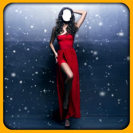 (Women Long Dress Photo Editor)
