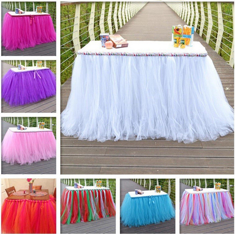 fiesta costura vestido para fiesta de beb/é artesan/ía decoraci/ón de boda falda envolturas /Rollo de tul supersuave para tut/ú 15,24 cm x 45,72 m