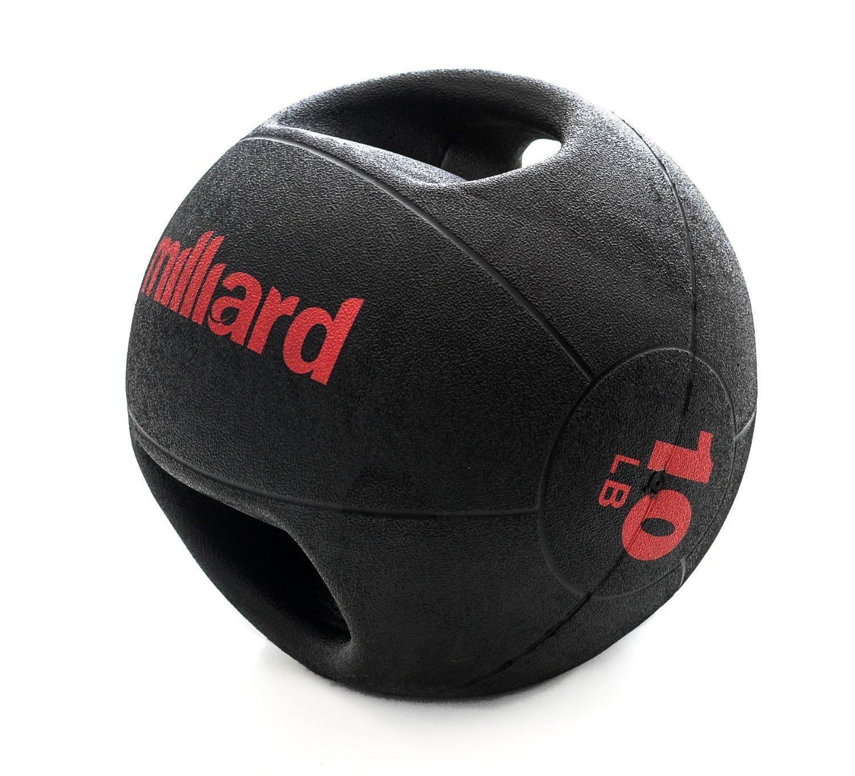 Milliard double-grip balón medicinal - 4,5 kg/4,5 kg.: Amazon.es ...
