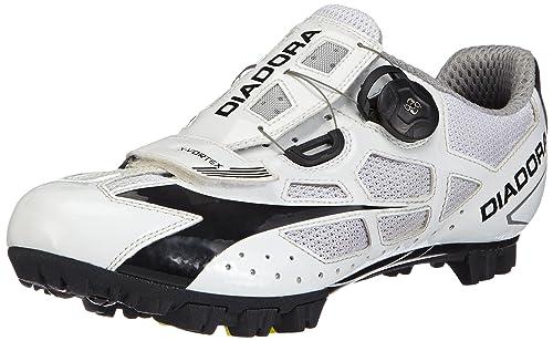 Diadora X- Vortex - Calzado de ciclismo unisex, color Weiß (weiß/schwarz 3510), talla 47: Amazon.es: Zapatos y complementos