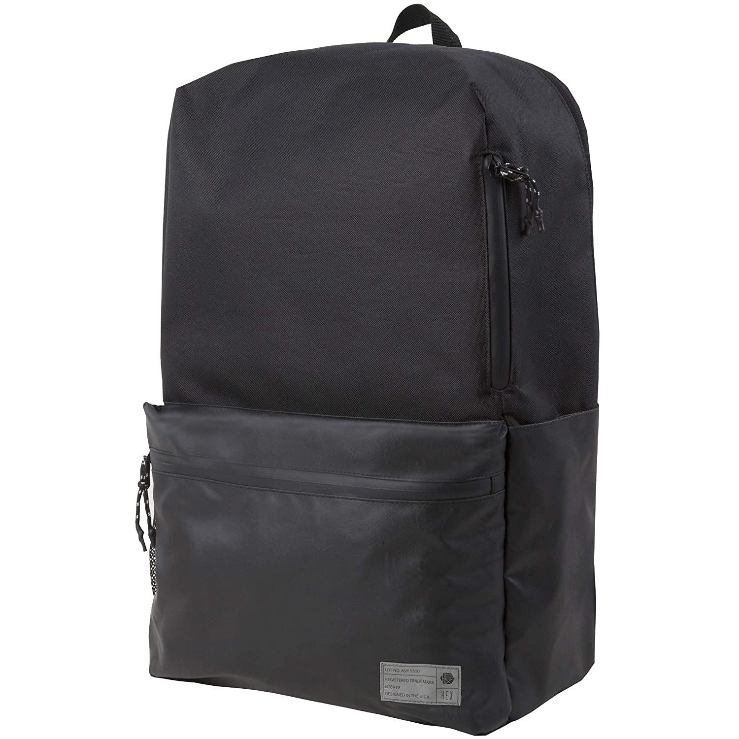 488f77b25f6a Amazon.com: HEX Aspect 25L Sneaker Backpack, Black (BLK/MTLCBK), One ...