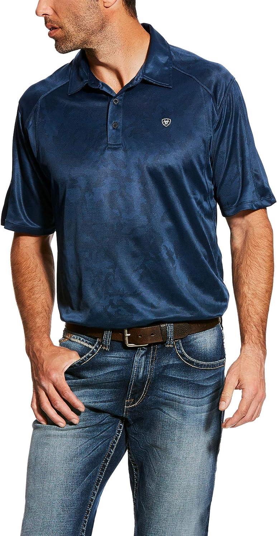 ARIAT Mens Ac Polo Shirt
