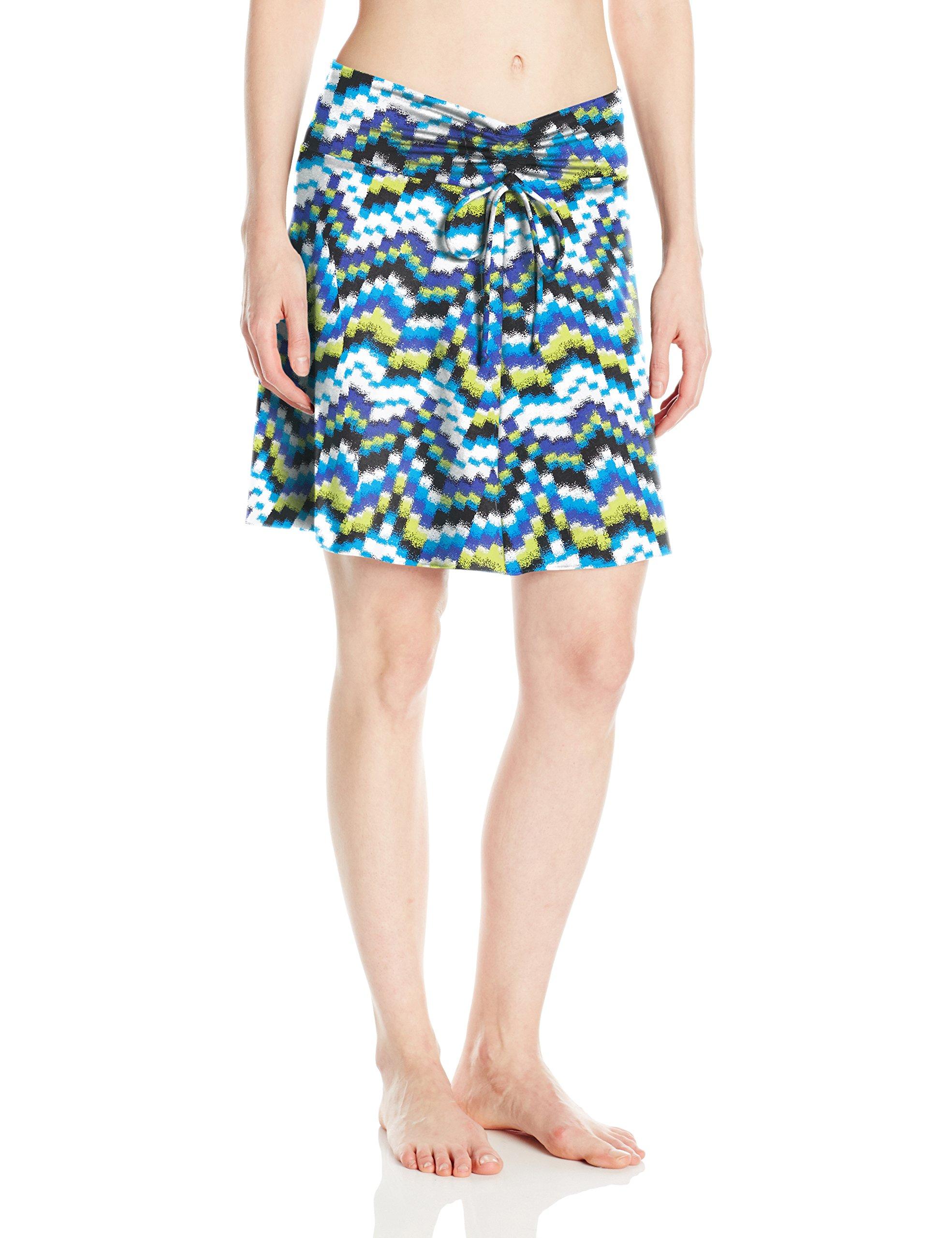 Soybu Women's Serendipity Skirt, X-Large, Amp Wave
