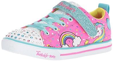 Skechers Mädchen Sparkle Lite Unicorn Craze Sneaker